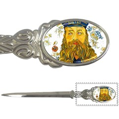 Vincent Van Gogh Cartoon Beard Illustration Bearde Letter Opener