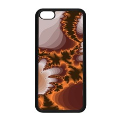 Fractal Pattern Shades Of Brown Iphone 5c Seamless Case (black)