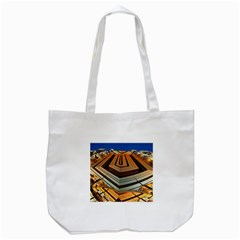 Stadium Fractal The Future Tote Bag (white)