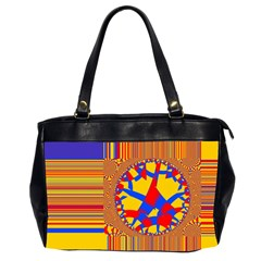 Graphic Design Graphic Design Oversize Office Handbag (2 Sides)