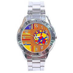 Graphic Design Graphic Design Stainless Steel Analogue Watch by Pakrebo