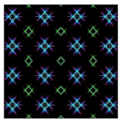 Background Abstract Vector Fractal Large Satin Scarf (square)