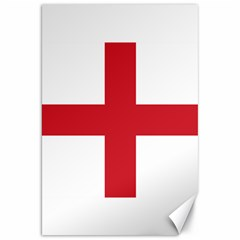 Flag Of England Canvas 20  X 30  by abbeyz71