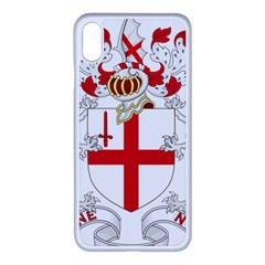 Coat Of Arms Of The City Of London Iphone Xs Max Seamless Case (white) by abbeyz71