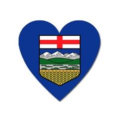 Flag Of Alberta Heart Magnet by abbeyz71