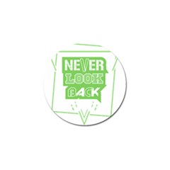 Never Look Back Golf Ball Marker (10 Pack) by Melcu