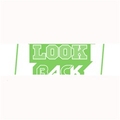 Never Look Back Large Bar Mats by Melcu