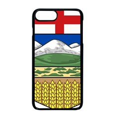 Provincial Shield Of Alberta Iphone 8 Plus Seamless Case (black)