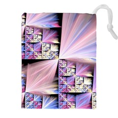 Fractal Art Artwork Digital Art Drawstring Pouch (xxl)