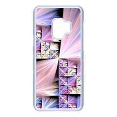 Fractal Art Artwork Digital Art Samsung Galaxy S9 Seamless Case(white)