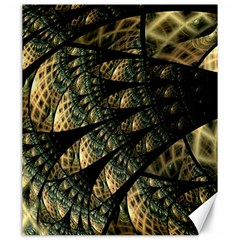Pattern Abstract Fractals Canvas 20  X 24