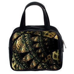 Pattern Abstract Fractals Classic Handbag (two Sides)