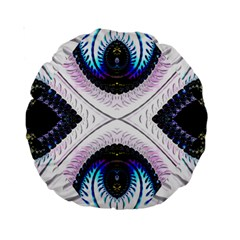 Patterns Fractal Background Digital Standard 15  Premium Round Cushions