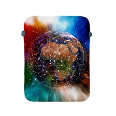 Network Earth Block Chain Globe Apple Ipad 2/3/4 Protective Soft Cases