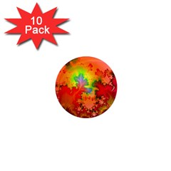 Background Abstract Color Form 1  Mini Magnet (10 Pack)