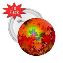 Background Abstract Color Form 2 25  Buttons (10 Pack)