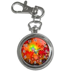 Background Abstract Color Form Key Chain Watches by Pakrebo