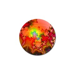 Background Abstract Color Form Golf Ball Marker (10 Pack)