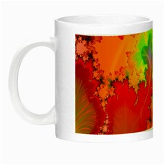 Background Abstract Color Form Night Luminous Mugs