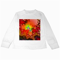 Background Abstract Color Form Kids Long Sleeve T Shirts