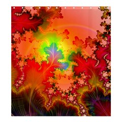Background Abstract Color Form Shower Curtain 66  X 72  (large)