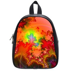 Background Abstract Color Form School Bag (small)