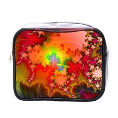 Background Abstract Color Form Mini Toiletries Bag (one Side)