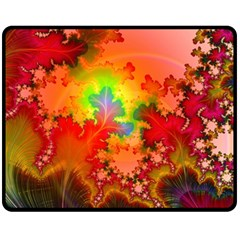 Background Abstract Color Form Fleece Blanket (medium)