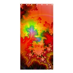 Background Abstract Color Form Shower Curtain 36  X 72  (stall)