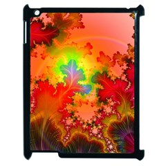 Background Abstract Color Form Apple Ipad 2 Case (black)