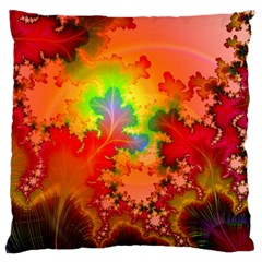 Background Abstract Color Form Large Cushion Case (two Sides)