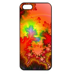 Background Abstract Color Form Iphone 5 Seamless Case (black)