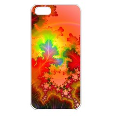 Background Abstract Color Form Iphone 5 Seamless Case (white)