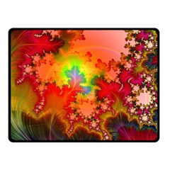 Background Abstract Color Form Double Sided Fleece Blanket (small)
