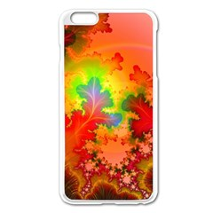 Background Abstract Color Form Iphone 6 Plus/6s Plus Enamel White Case