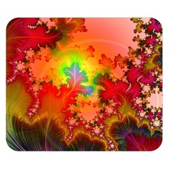 Background Abstract Color Form Double Sided Flano Blanket (small)