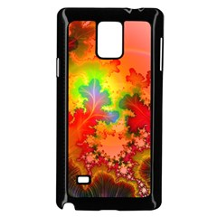 Background Abstract Color Form Samsung Galaxy Note 4 Case (black)