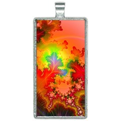Background Abstract Color Form Rectangle Necklace