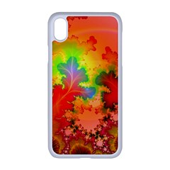Background Abstract Color Form Iphone Xr Seamless Case (white)