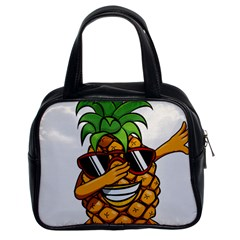 Dabbing Pineapple Sunglasses Shirt Aloha Hawaii Beach Gift Classic Handbag (two Sides) by SilentSoulArts