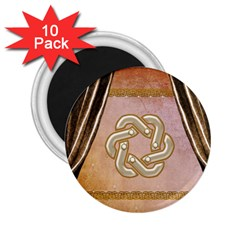 Decorative Celtic Knot 2 25  Magnets (10 Pack)