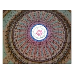 Statehouse Rotunda Rectangular Jigsaw Puzzl by Riverwoman