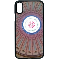 Statehouse Rotunda Iphone X Seamless Case (black) by Riverwoman