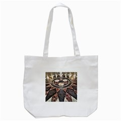 Statehouse Rotunda Floor Tote Bag (white) by Riverwoman