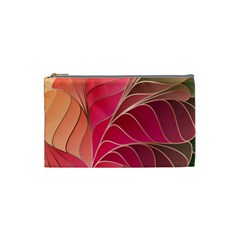 Modern Colorful Abstract Art Cosmetic Bag (small) by tarastyle