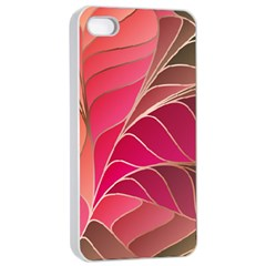 Modern Colorful Abstract Art Iphone 4/4s Seamless Case (white)
