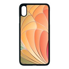 Modern Colorful Abstract Art Iphone Xs Max Seamless Case (black)