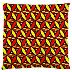 Rby 6 Large Flano Cushion Case (one Side) by ArtworkByPatrick