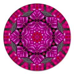 Sweet As Candy Can Be Magnet 5  (round) by pepitasart