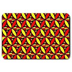 Rby 6 Large Doormat  by ArtworkByPatrick